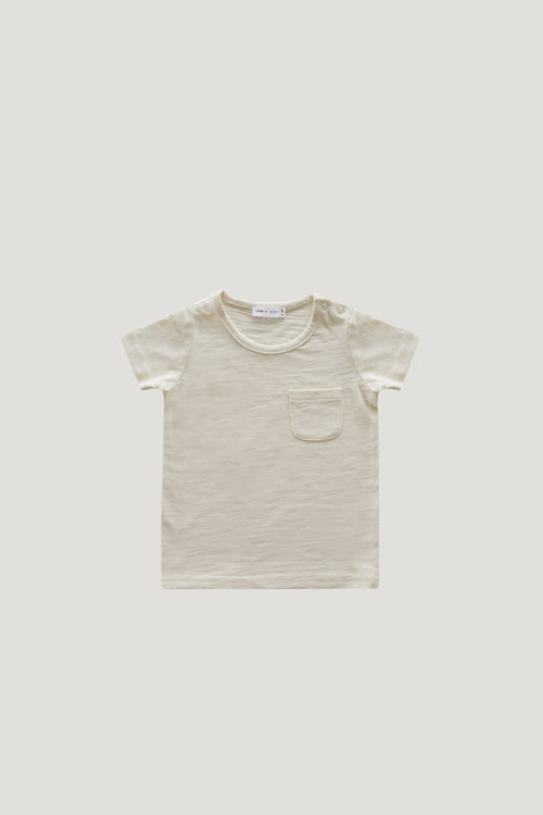 Slub Cotton Sam Tee - Cloud
