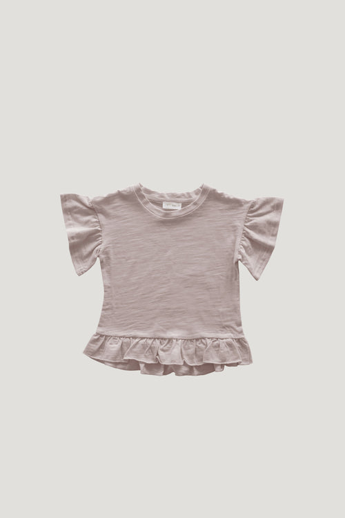 Slub Cotton Eden Top - Candy Floss