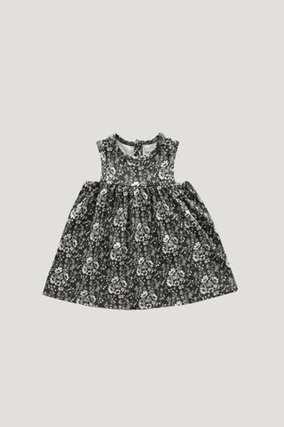 Organic Cotton Sleeveless Dress - Nostalgia Floral