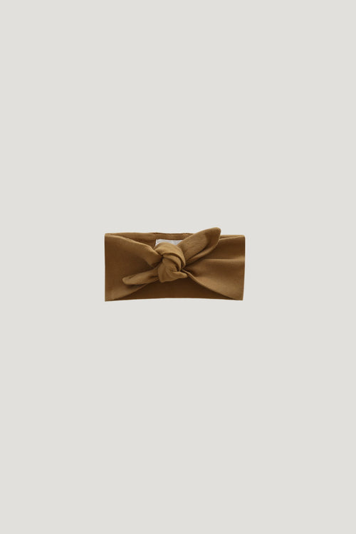 Organic Cotton Interlock Headband - Bronze