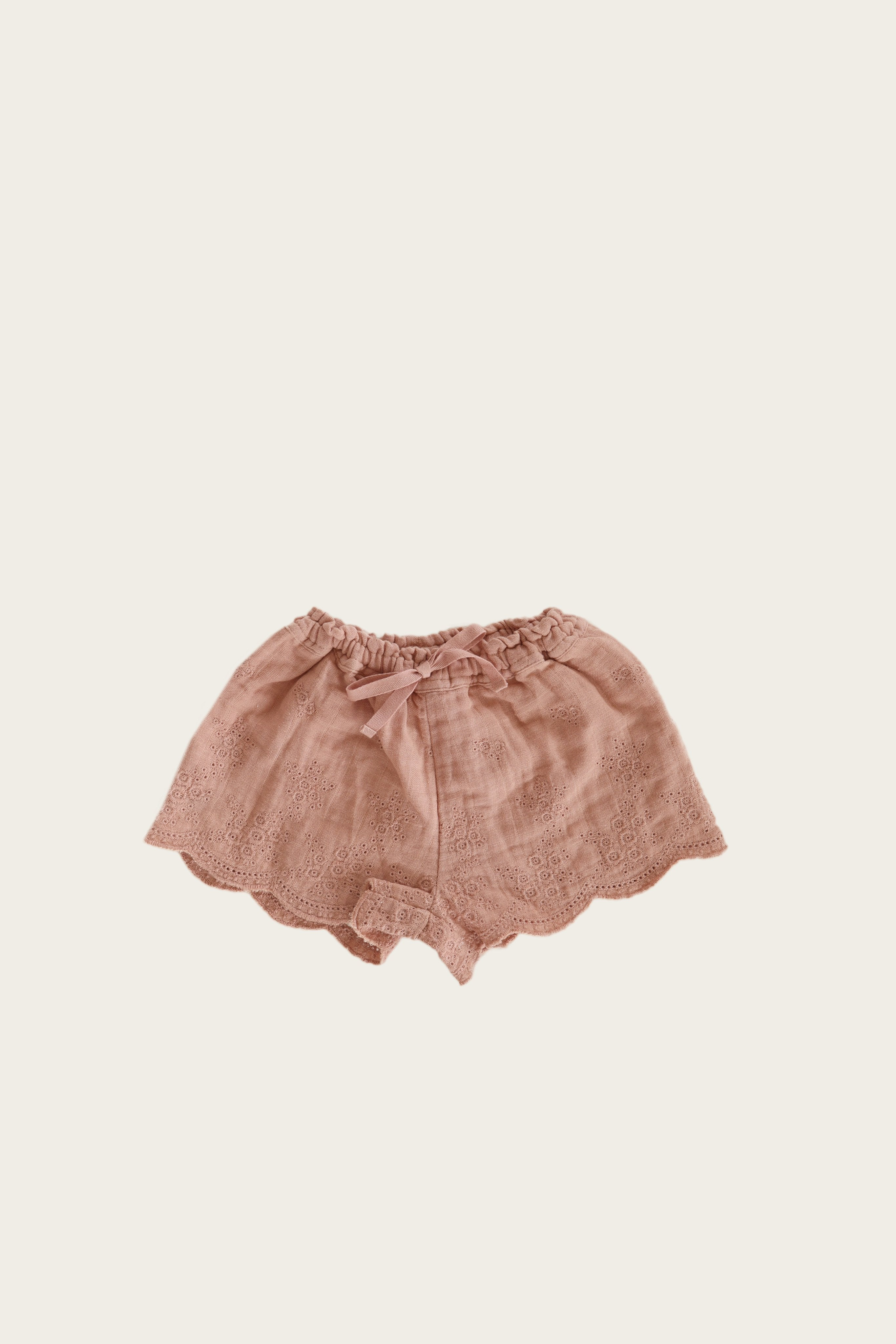 Organic Cotton Muslin Quinn Short - Sunset
