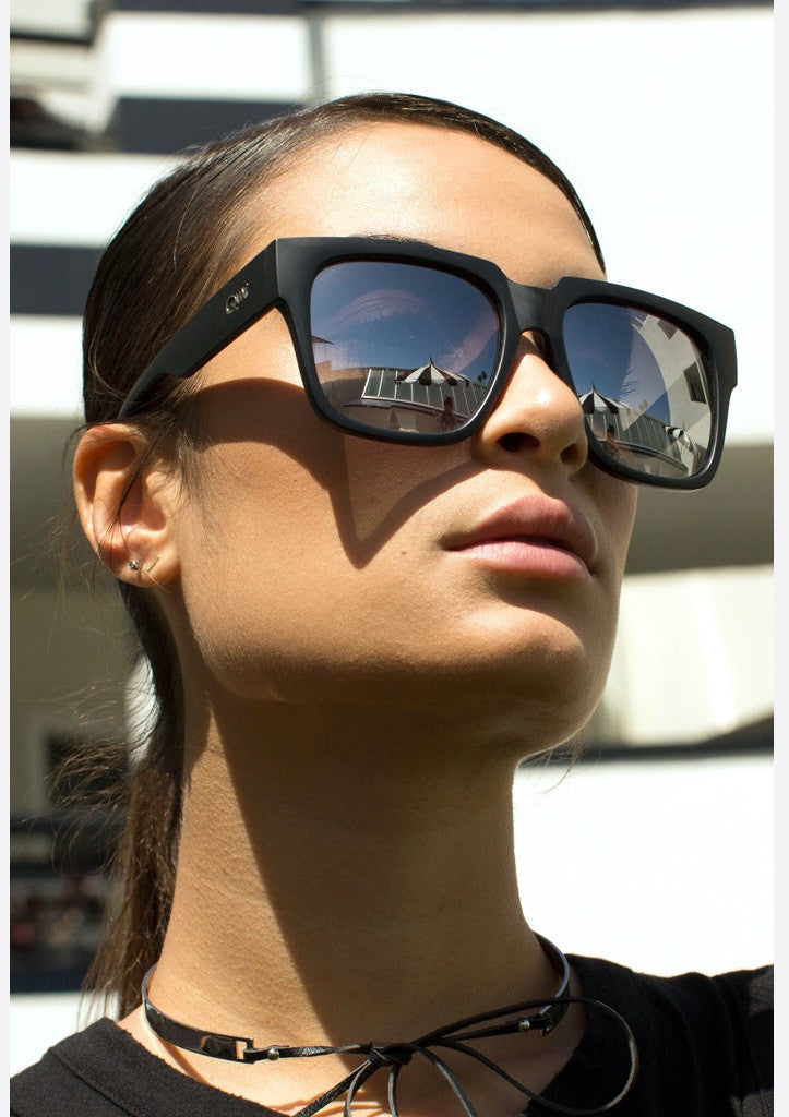QUAY SUNGLASSES - ON THE PROWL BLACK