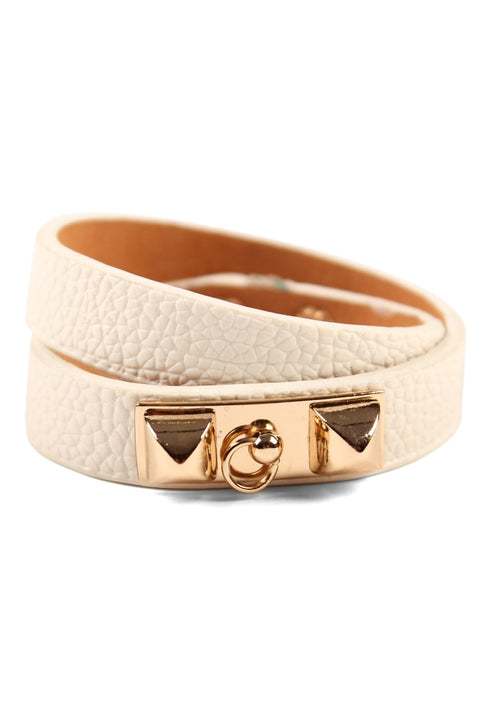Tough Love Cuff - Cream