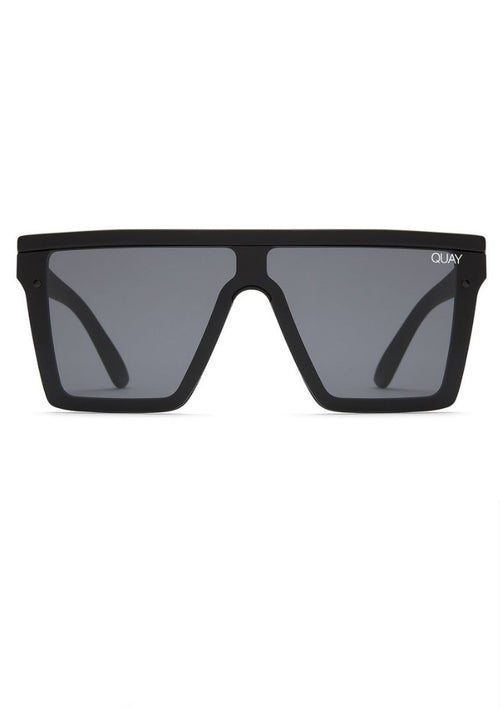 QUAY SUNGLASSES - HINDSIGHT BLACK