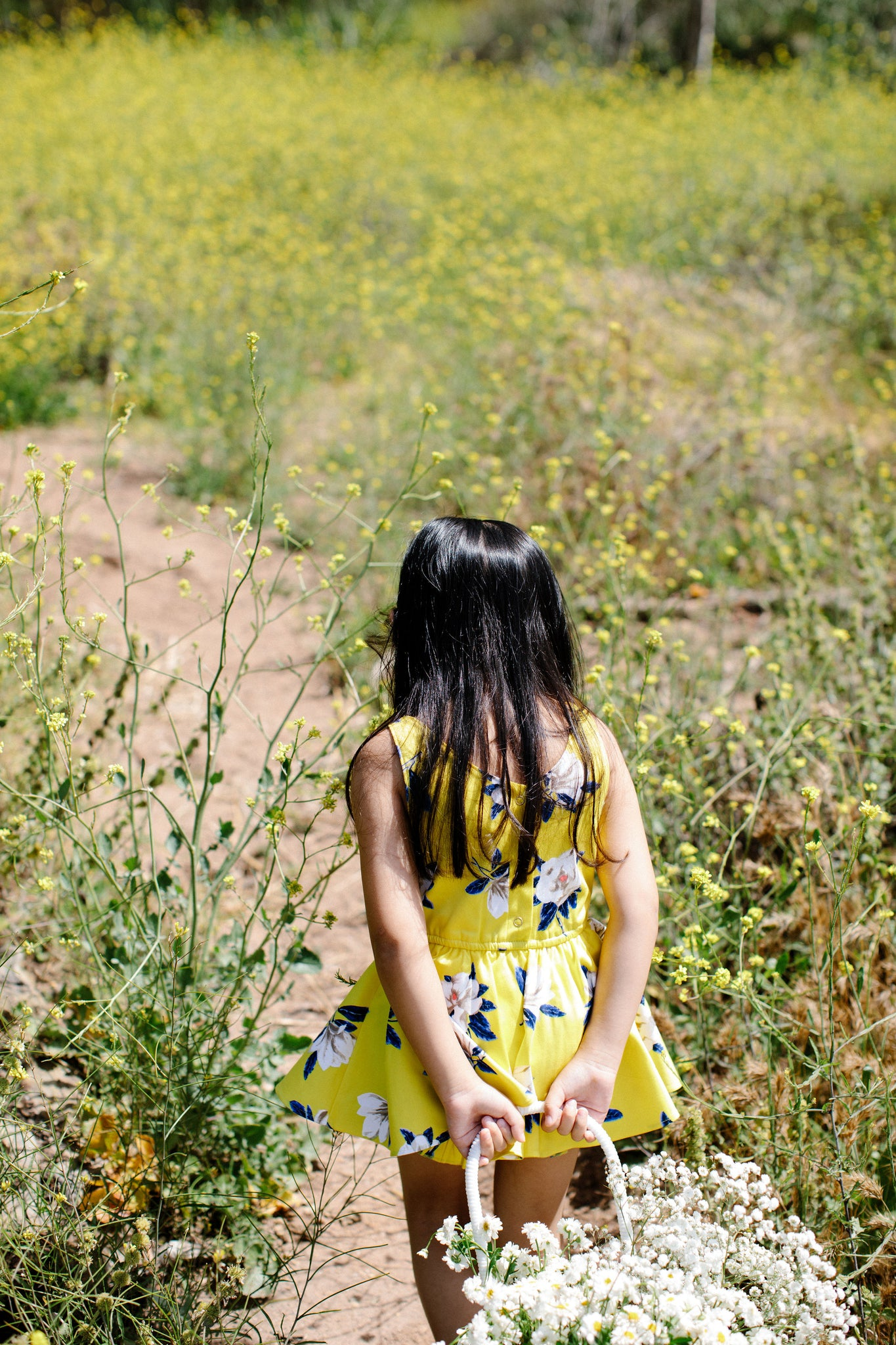round neck shortie dress: bright yellow