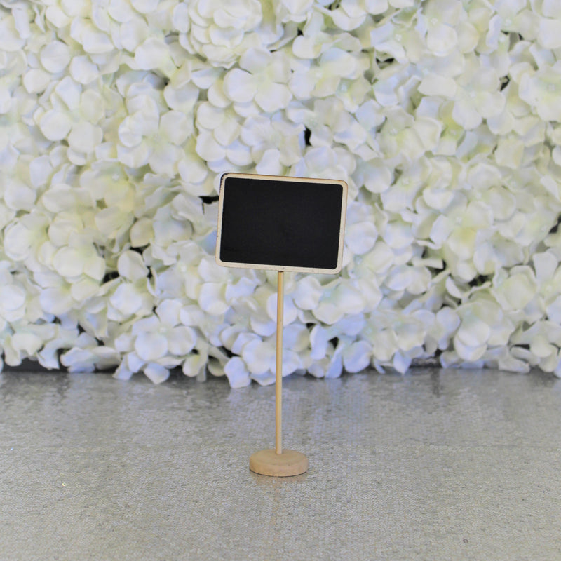 Table Number Chalkboard Stand
