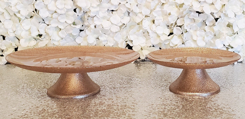 Cake Stand Rose Gold