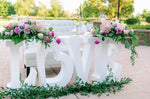 Sweetheart Table & Head Table Décor