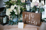Gift Table Décor
