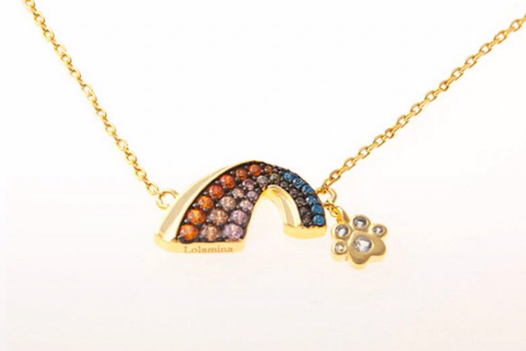 DJ Rainbow Necklace