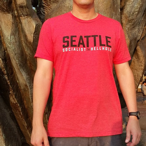 Seattle Socialist Hellhole T-Shirt