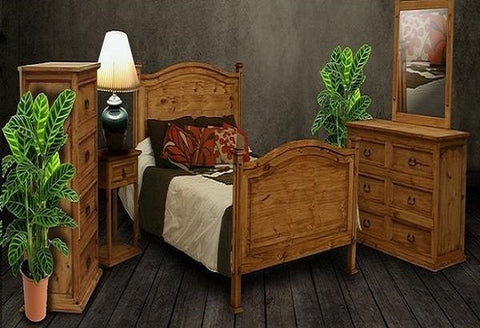 Wesley Rustic Queen Bedroom Set - Katy Furniture