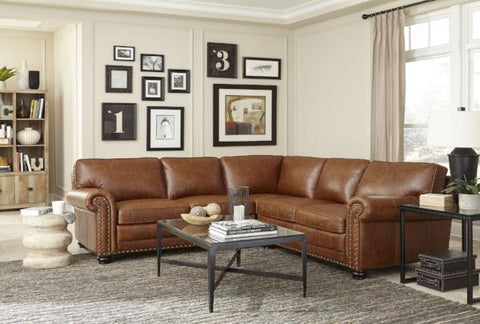 Hardwick Leather Sectional