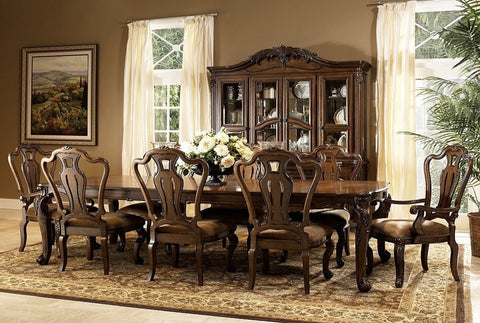 Rochelle Table W/ 8 Chairs