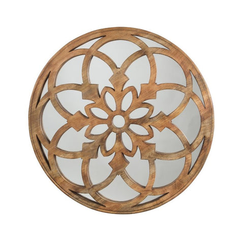 "Oilhane 40"" Round Mirror - Katy Furniture"