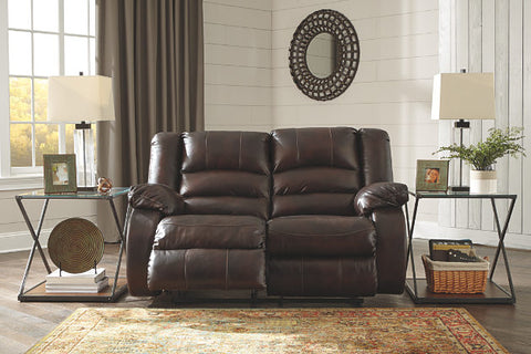 Levelland Leather Sofa & Loveseat - Katy Furniture