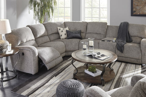 Banner Power sectional - Katy Furniture