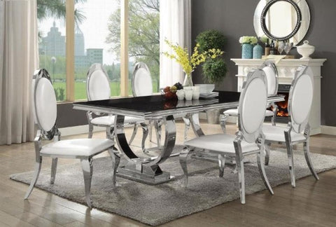 Antoine Rectangular Table w/ 6 Chairs