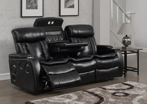 Galaxy Power Reclining Sofa w/USB Port