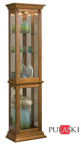 New England Oak Curio