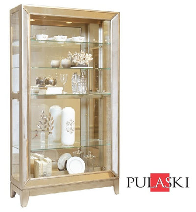 Tera Side Entry Curio - Katy Furniture