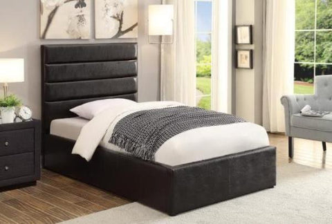 Riverbend Upholstered Twin Bed - Katy Furniture