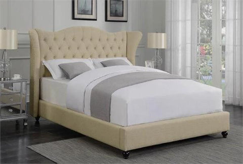 Newburgh Beige Queen Bed