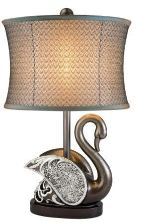 Pacifica Swan Table Lamp - Katy Furniture