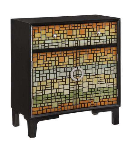 Mosaic Multi Color Cabinet