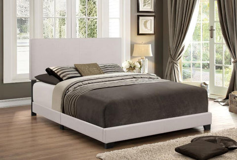 Erin Queen Khaki Bed