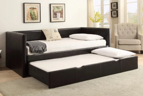 Sadie Daybed w/ Trundle & 2 FREE Twin Mattresses