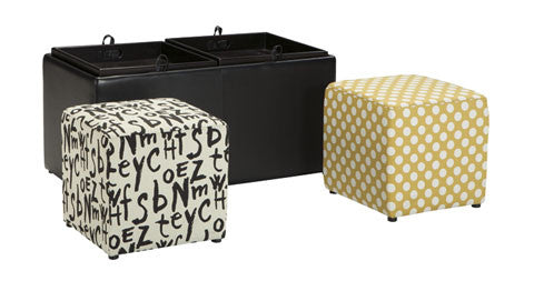 Brindon Ottoman with Storage