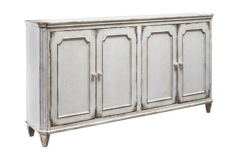 Mirimyn Antique White Accent Cabinet