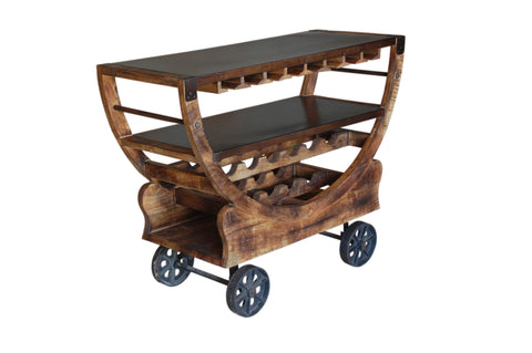 Mango Trolley Bar - Katy Furniture