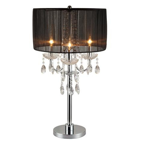 Chandelier Table Touch Lamp - Katy Furniture