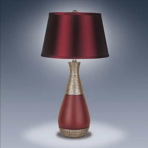 Table Lamp Red - Katy Furniture
