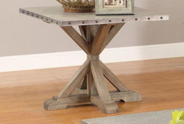Driftwood End Table Katy Furniture
