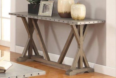 Driftwood Sofa Table - Katy Furniture