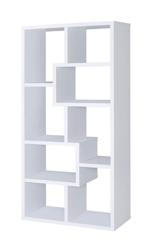 Multiple Cubed Rectangular Bookcase