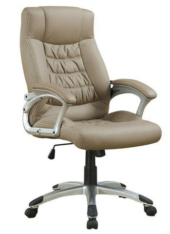 Contemporary Upholstered Executive Chair - Katy Furniture