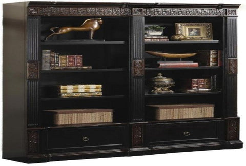Rowan Double Bookcase - Katy Furniture