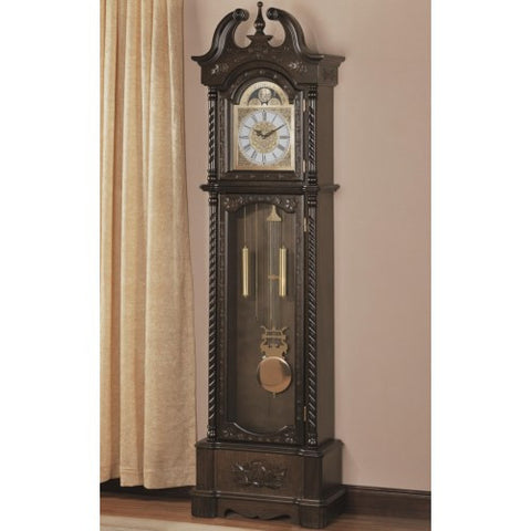 Barley Grandfather Clock with Chime - Katy Furniture