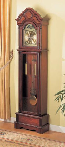 Traditional Grandfather Clock with Chime - Katy Furniture