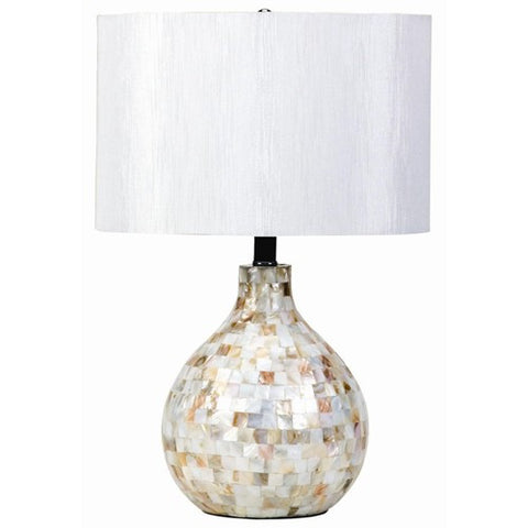 Mosaic Look Table Lamp - Katy Furniture