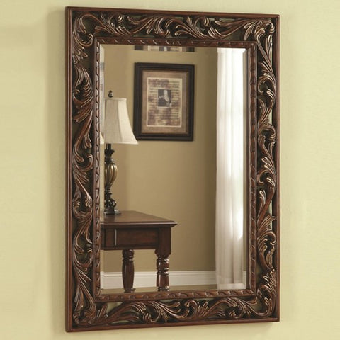 Traditional Wall Mirror - Katy Furniture