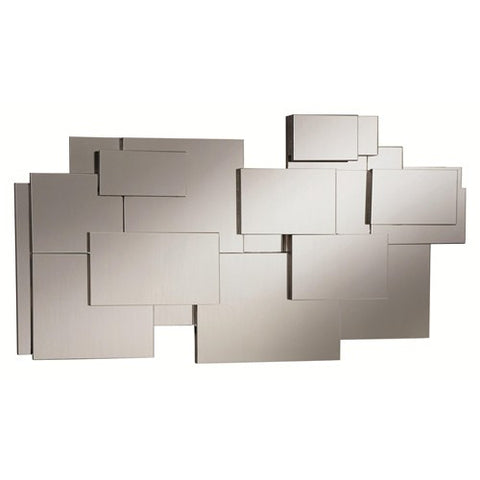 Contemporary Stacked Wall Mirror