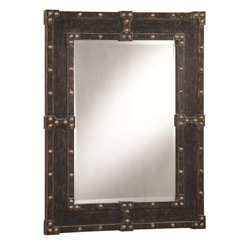 Antique Trunk Look Mirror