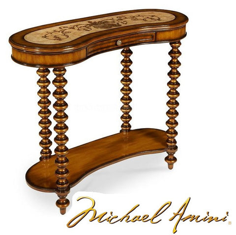 Discoveries Kidney Shaped Accent Table