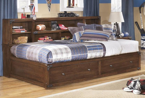 Delburne Full Storage Bedroom Set - Katy Furniture