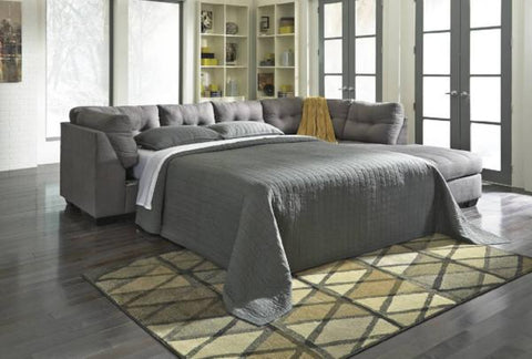 Maier Sectional W/ Sleeper - Katy Furniture